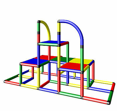 £191.24 • Buy Moveandstic Junior Building Kit Play Tower Klettergerät Move And Stic
