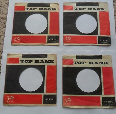 Company Record  Sleeves. 7 .   Top Rank. Original  In Excellent Condition  • 5£