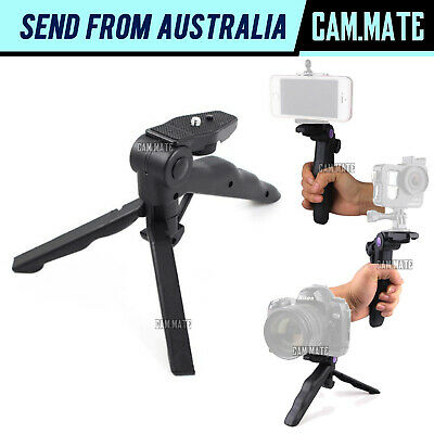 AU13.99 • Buy Mini Camera Tripod Portable Handheld Selfie Stick DSLR Travel Stand Holder 3140