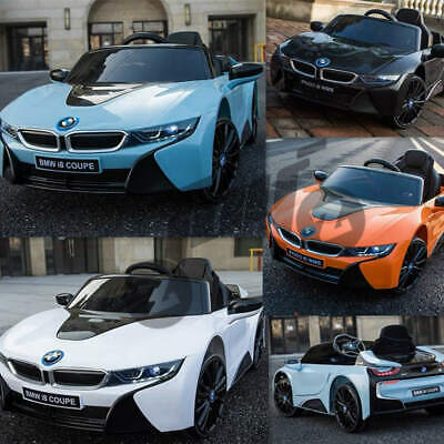 Licensed BMW I8 Kids Ride On Car 12V Battery Remote Control Door Open • 169.19£
