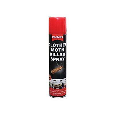 Rentokil RKLPSC100 Clothes Moth Killer Spray • 5.21£