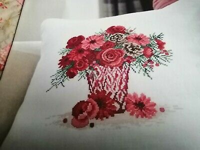 Cross Stitch Charts   Festive Florals Christmas Flowers Chart  • 2.99£