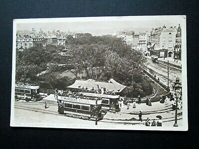 £3.50 • Buy The Old Steine Gardens, Grand Parade, Brighton, Trams - Pictorial Centre (1912)