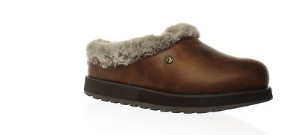 Bobs By Skechers Womens R E M Brown Mule Slippers Size 5.5 (Wide) (1473449) • 11.94£