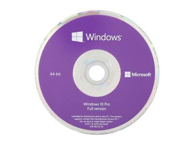$ CDN108.82 • Buy Windows 10 Pro 64-Bit Installation / Recovery Disc - OEM Key Included No Sticker