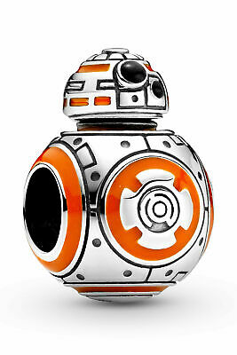 NEW 100% Authentic PANDORA 925 Silver Star Wars BB-8 Pendant Charm 799243C01 • 18.99£