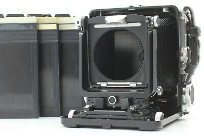 [Exc+5] Wista 45 SP 4x5 Large Format Field Camera With Cut Film Holder X3 Japan • 573.63£