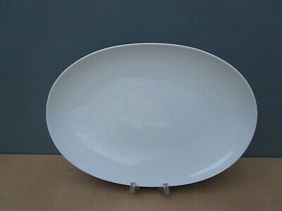 ROSENTHAL RHYTHM CHARCOAL 13 Inch SERVING PLATE DESIGNED BY RAYMOND LOEWY • 12£