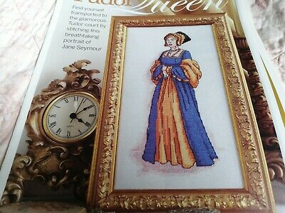 Cross Stitch Chart Tudor Queen Lady Chart Jane Seymour Chart • 1.50£