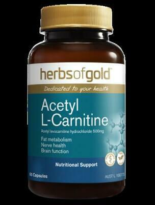 AU25.65 • Buy Herbs Of Gold - Acetyl L-Carnitine