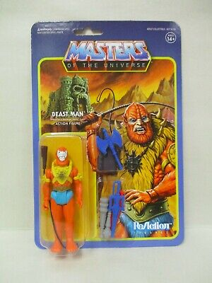 $17.95 • Buy Super 7 Motu Masters Of Universe Exclusive Reaction Beastman Weapons Pack Moc