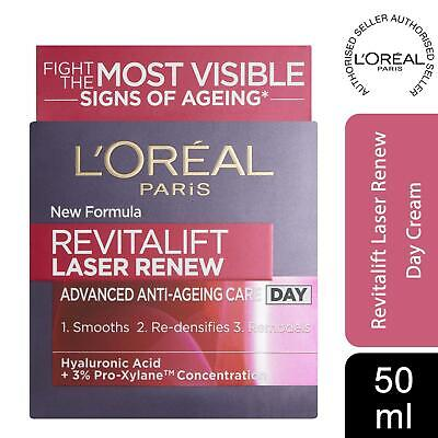 L'Oreal Paris Revitalift Laser Renew Adv. Anti-Ageing Smoothing Day Cream 50ml • 16.79£