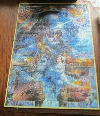 Ravensburger Star Wars 1000 Piece Jigsaw Puzzle Hero's And Villains 15 821 8 • 4.99£