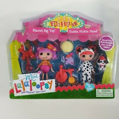 £21.99 • Buy Mini  Lalaloopsy Dolls Silly Fun House Peanut Big To Ember Flicker Flame NEW