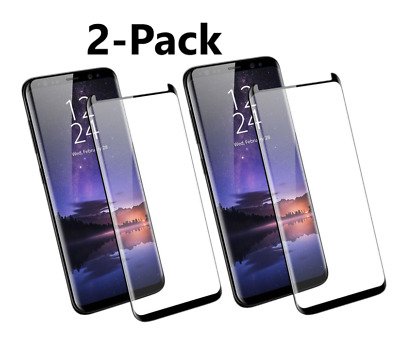 $ CDN5.07 • Buy Samsung Galaxy S9 S8 Plus Note 8 9 4D Full Cover Tempered Glass Screen Protector