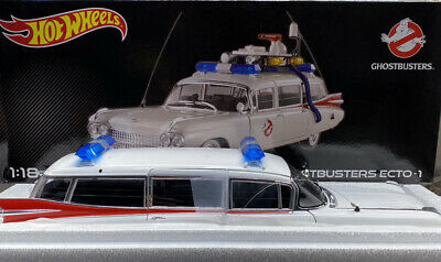 Hot Wheels 1/18 Scale NEW..Ghost Busters Diecast ECTO 1 OMG Amazing ..VERY RARE • 253.25£