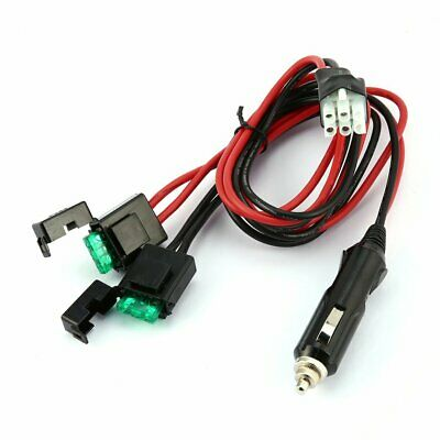 AU16.67 • Buy 6pin Short Wave Cigarette Lighter Power Cord For Yaesu Ft-857d Ft-897d Ic-725a