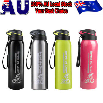 AU13.99 • Buy 500ml Stainless Steel Insulated Thermos Cup Flask Travel Mug Water Drink Bottle