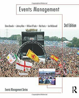 £46.70 • Buy Events Management By Bowdin  New 9781856178181 Fast Free Shipping..