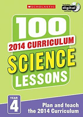 100 Science Lessons: Year 4 (100 Lessons - New Curriculum) By McMahon New+- • 22.81£