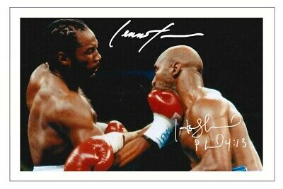 £1.89 • Buy LENNOX LEWIS & EVANDER HOLYFIELD Signed Autograph PHOTO Gift Print BOXING Boxer