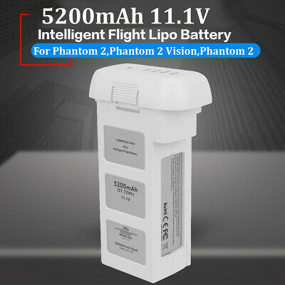 AU91.99 • Buy For DJI Phantom 2 Vision Intelligent Flight 3S Spare Battery 5200mAh 11.1V