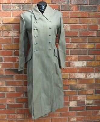 WW2 German Wehrmacht Officer  Raincoat Rubberized. Amazing Good Condition RARE@@ • 379£