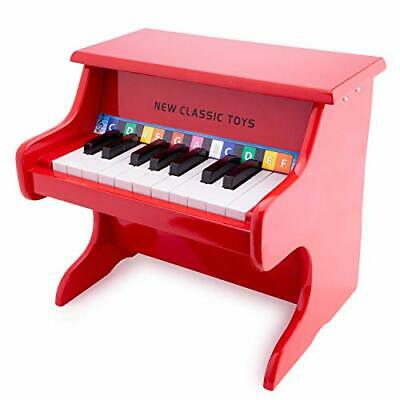 New Classic Toys Wooden Piano With Music Book For Toddlers 3 Years Old Boys And • 61.78£