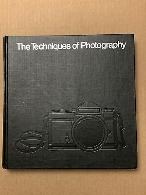 The Techniques Of Photography, Time-Life, Hardback Book, 1980` • 12£