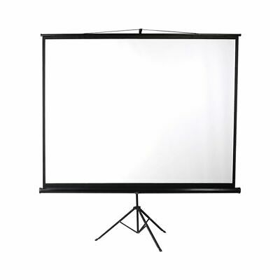 AU104.99 • Buy Projector Screen With Tripod Stand 100in Home Office Pull Down Outdoor Screens