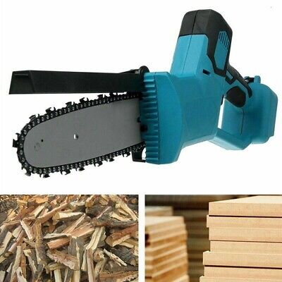 8'' Electric Chain Saw Blade Cordless Chainsaw Garden Cutting Tools For Makita • 42.04£