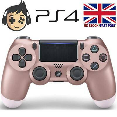 Sony PS4 Controller DualShock 4 Rose Gold Playstation 4 Wireless Controller UK • 23.99£