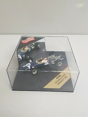 Quartzo 1/43 - 4005 Lotus 49 - Spanish Gp 1968 Jo Siffert #16 C/155 • 12.99£