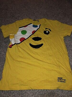 Children In Need T-Shirt Age 12-13 • 3£