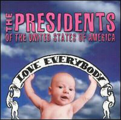 The Presidents Of The United States Of America-Love Everybody CD • 4.99£