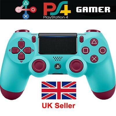 Sony PS4 DualShock 4 Wireless Controller Berry Blue --- PlayStation Brand New UK • 23.78£