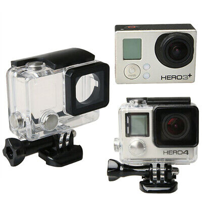 $ CDN14.01 • Buy Gopro Hero 4 3 Camera Diving Underwater Housing Case Protective Waterproof Cover