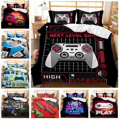 AU59.99 • Buy Gamers Collection #3 Single/Double/Queen/King Bed Quilt Cover Set