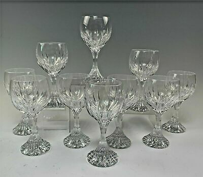 Baccarat France Massena Pattern  6 1/2  Wine Glass(es) Stemware • 61.88£