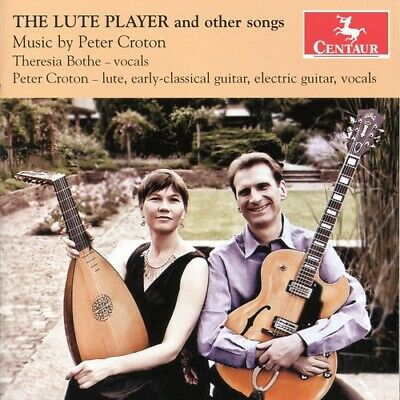 Lute Players & Other Songs - Peter Croton (CD New) Croton (LT) • 12.78£