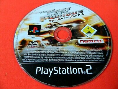 The Fast And The Furious PS2 Playstation Game Disc Only • 3.50£