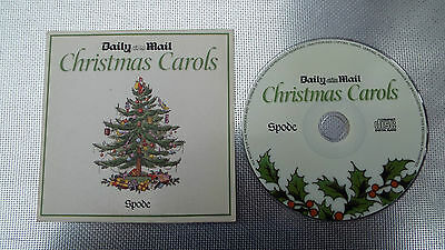 CHRISTMAS CAROLS- Daily Mail Promo CD. • 1.50£