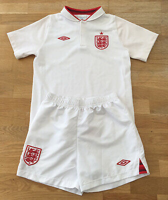England 2012-2013 National Football Team Home Kit Children Kid's Size 6-7 Years • 17£
