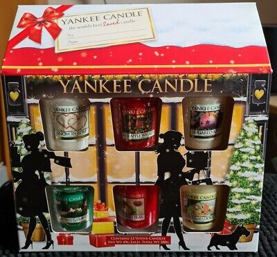 Yankee Candle Christmas Collection 12 Votive/Samplers House Gift Set BNIB Rare  • 26.99£
