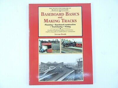 Model Railway Baseboard Basics & Making Track Book (look) • 9.99£