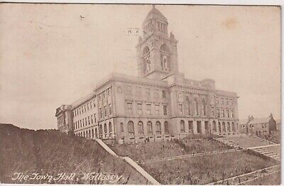 CHESHIRE - The Town Hall At Wallasey -1921 Wallasey Postmark • 1£