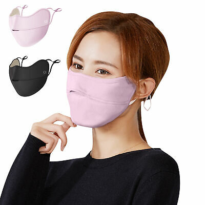 Anti-Fog Face Mask Washable Velvet Mouth Mask Anti-Dust Protection Covers • 6.29£