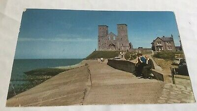 The Reculvers, Herne Bay Postcard 1965 • 0.99£