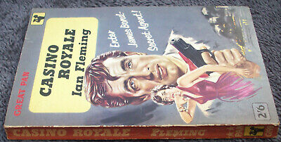 IAN FLEMING Casino Royale PAN PAPERBACK 1959 4th PRINTING 007 James Bond PB • 24.95£