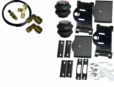 $206.05 • Buy 2007-2018 Chevy Silverado 1500 Air Tow Load Assist 2wd  4wd Overload Manual Fill